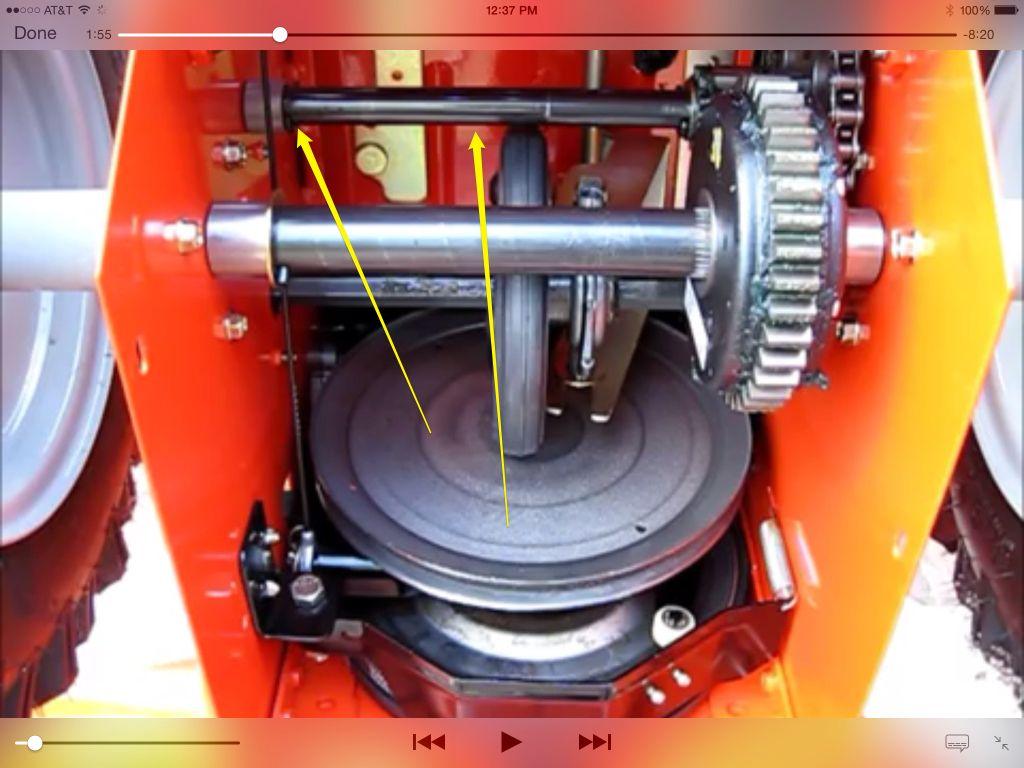 Фрикционное кольцо снегоуборщика – неисправности, ремонт, изготовление своими руками