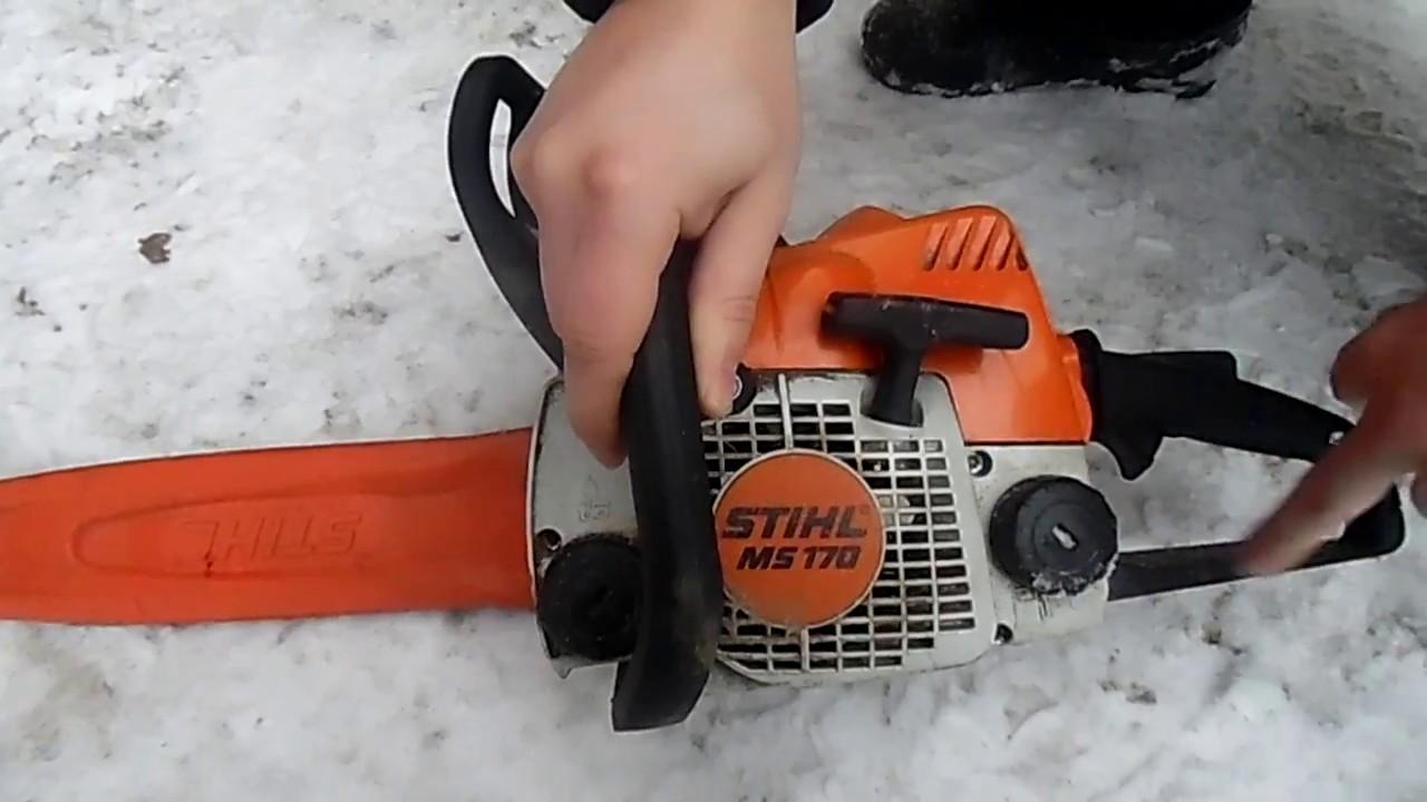 Бензопила stihl ms 180 – инструмент, достойный внимания