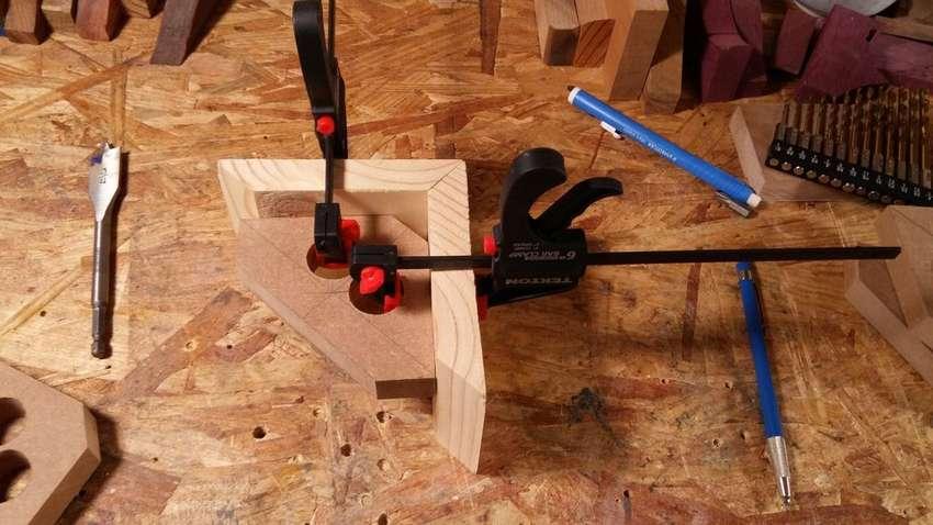 Изготовление угловой струбцины своими руками