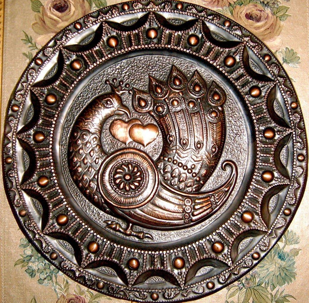 Чеканка по металлу. художественная обработка металла. рисунки для чеканки