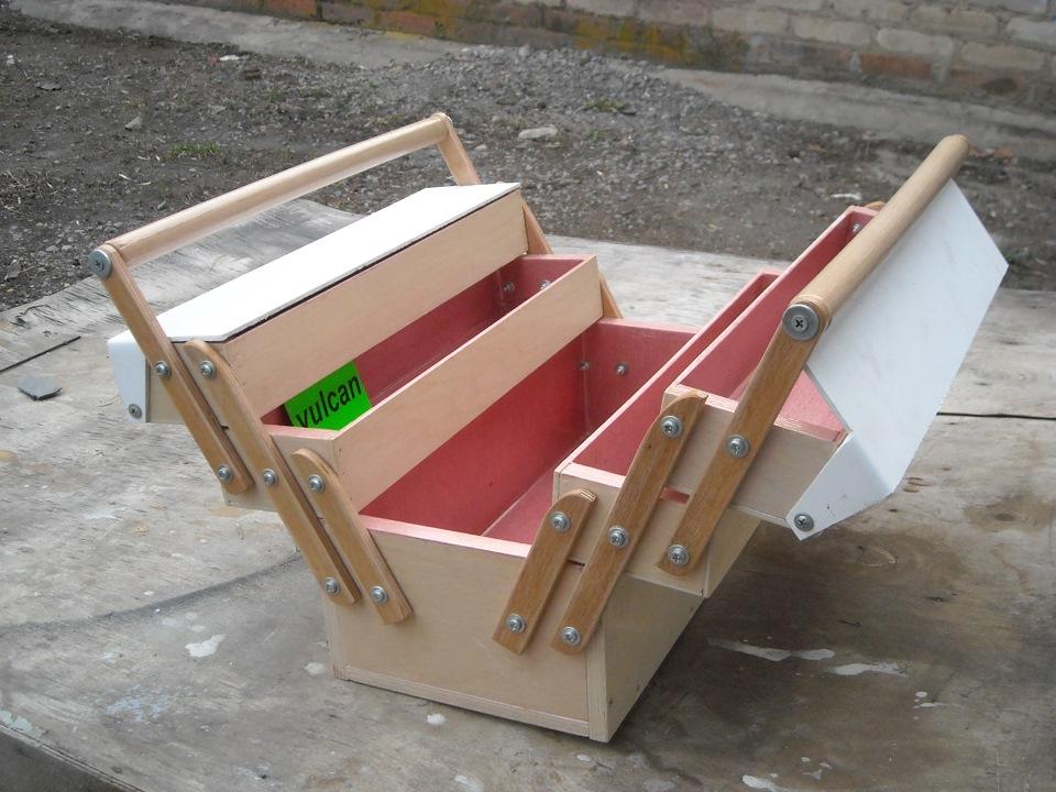 Как сделать ящик для инструментов?