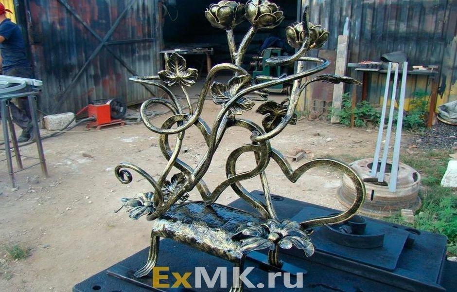 Поделки из металла: 130 реальных фото оригинальных металлических изделий и описание их изготовления