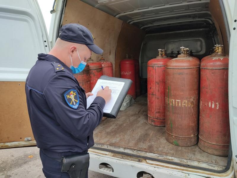 Проверка, опрессовка и освидетельствование газовых баллонов
