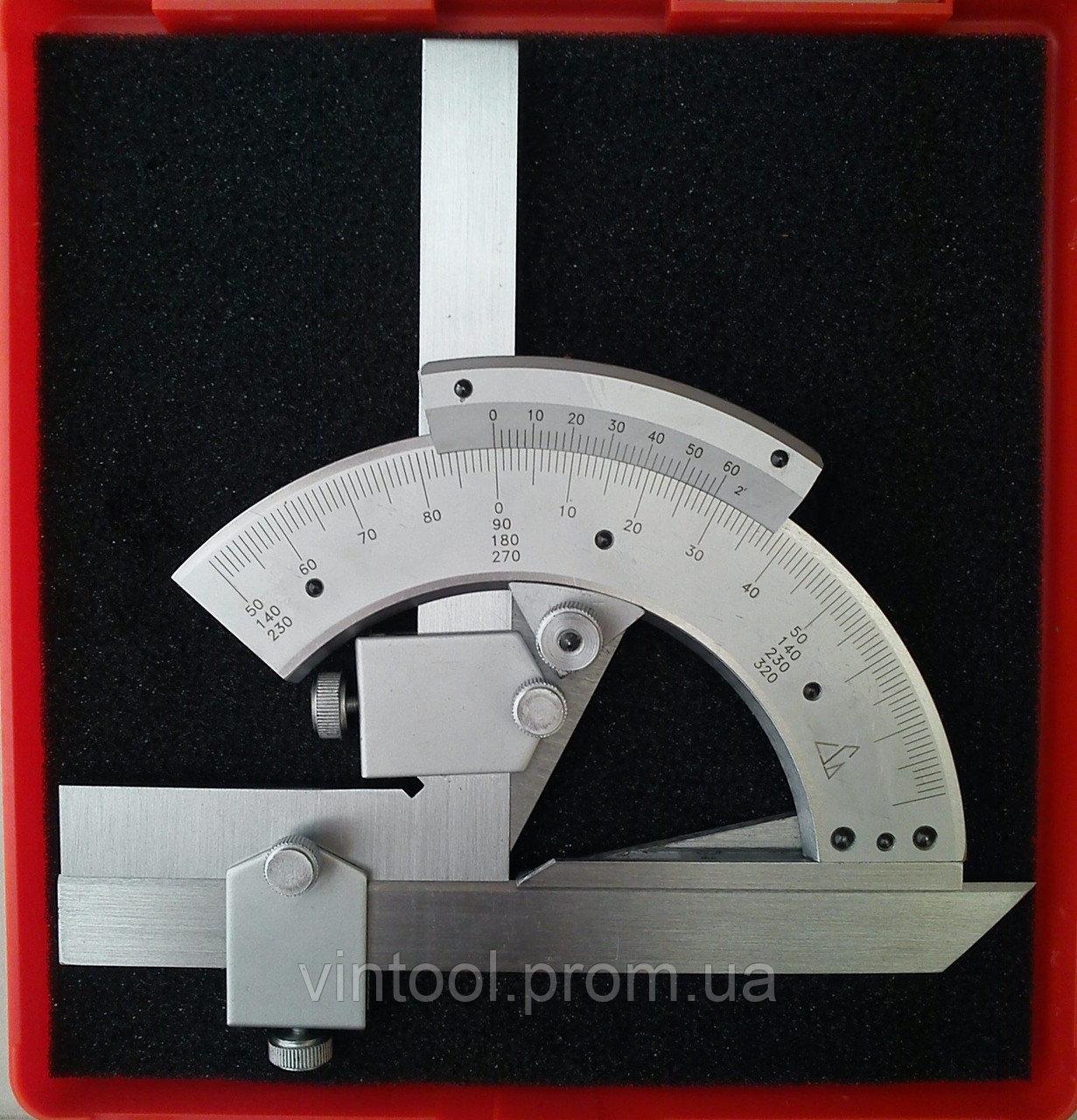 Механический универсальный угломерный инструмент
