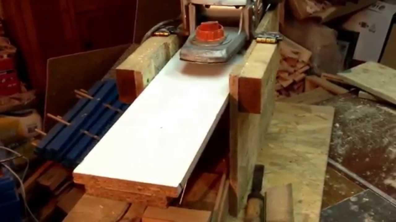 Рейсмусовый станок выполненный своими руками из электрорубанка, другие варианты конструкции