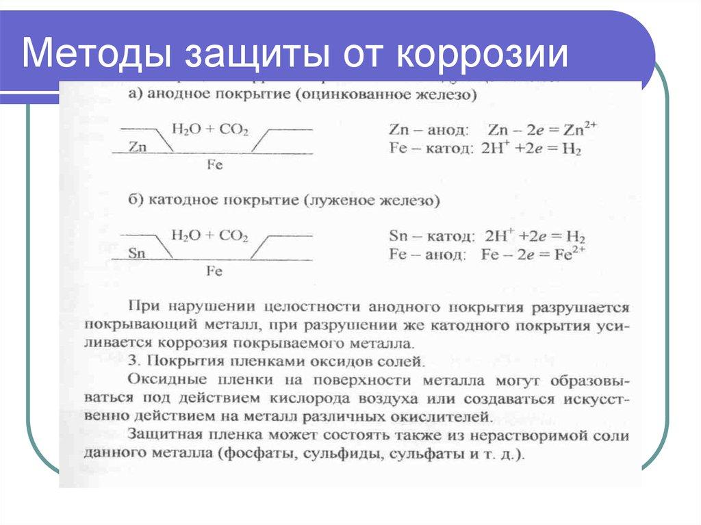 Электрохимическая защита автомобиля от коррозии: катодный, анодный методы борьбы с ржавчиной | dorpex.ru