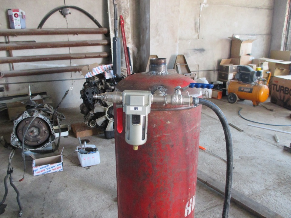 Осушитель воздуха для компрессора своими руками