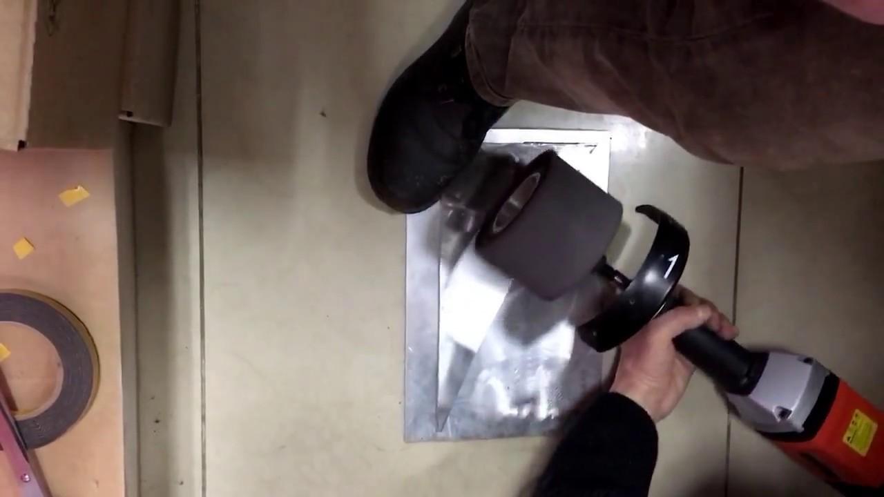 Как отполировать нож до зеркального блеска в домашних условиях