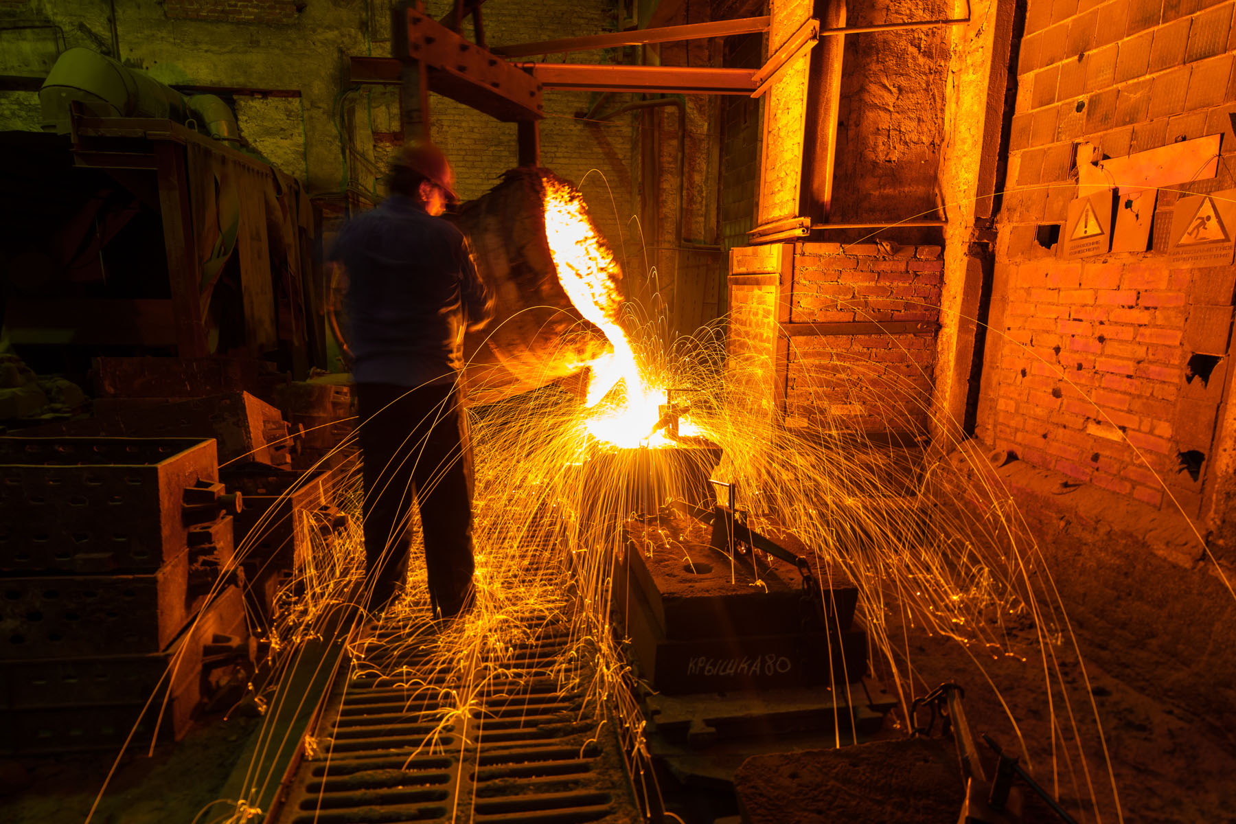Мини литейный завод под ключ (способы литья): металлы, оборудование