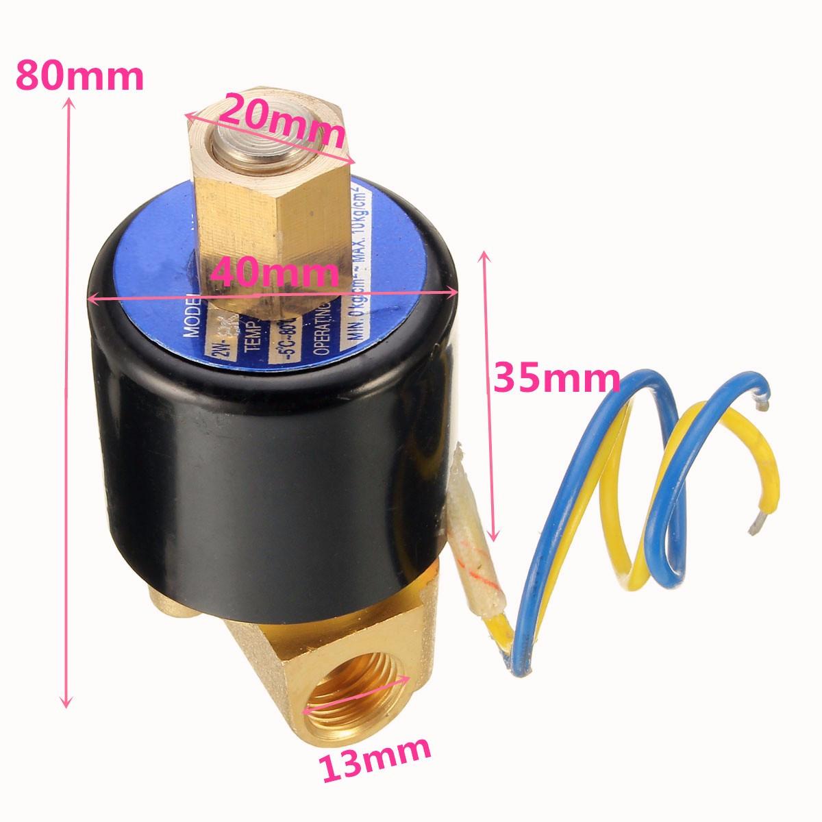 Электромагнитный клапан: назначение, применение, проверка и ремонт