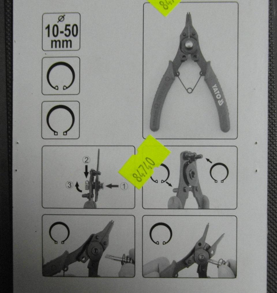 Как снять стопорные кольца без инструмента - в помощь хозяину