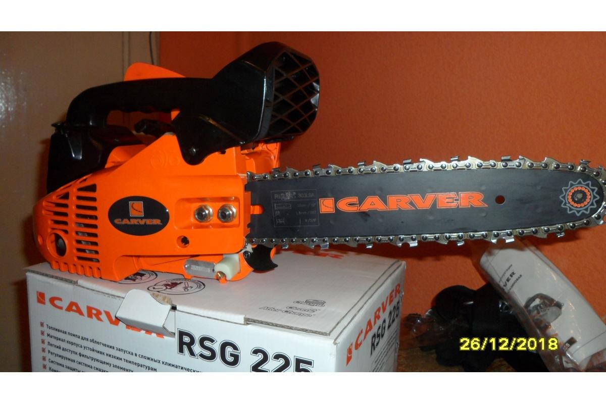 Бензопила carver rsg 225: отзывы