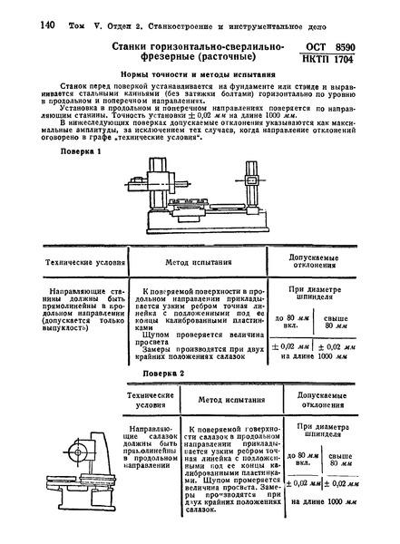 Гост 8-82 станки металлорежущие. общие требования к испытаниям на точность