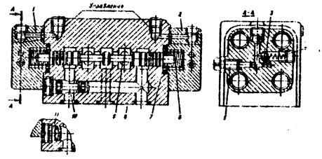 Принцип работы гидрораспределителя с электрическим управлением