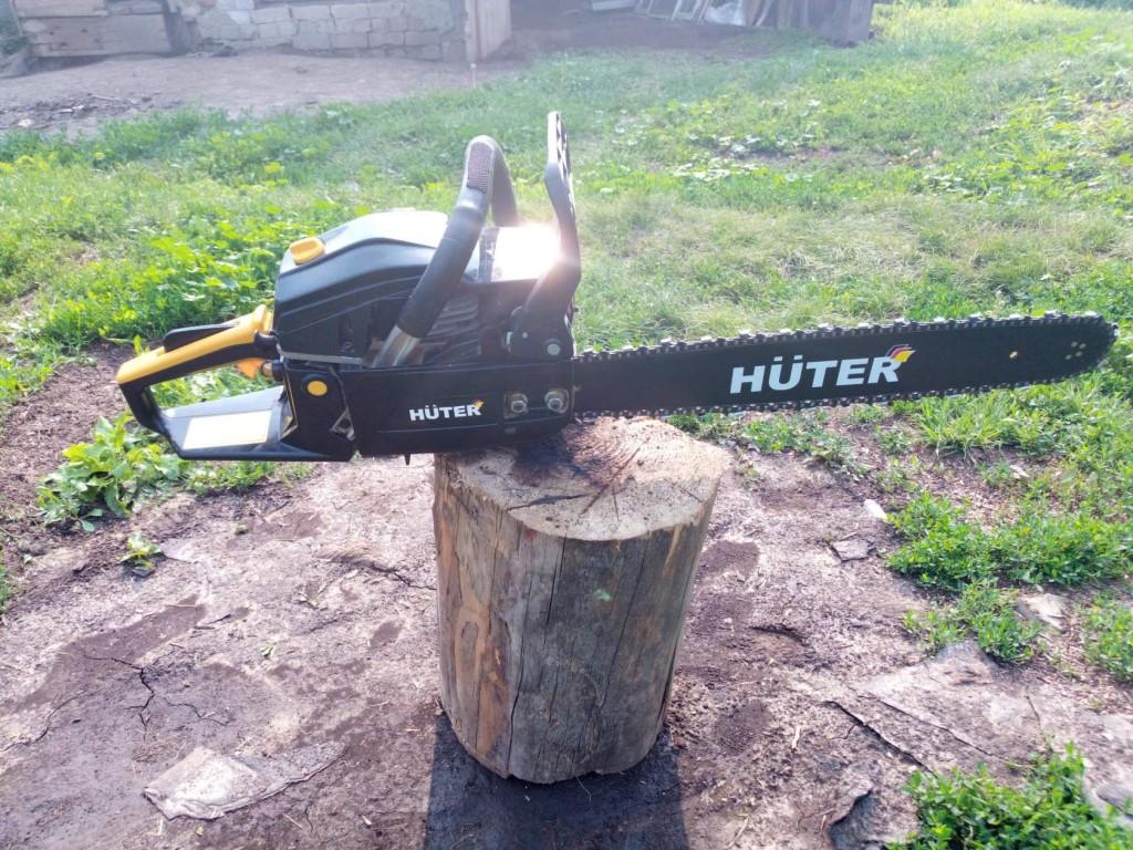 Бензопила хутер (huter) — обзор характеристик моделей