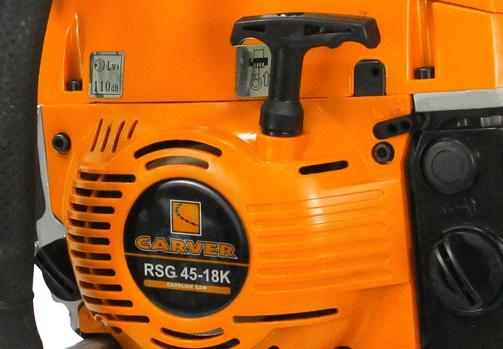 Carver rsg 225 — бытовая мини-бензопила