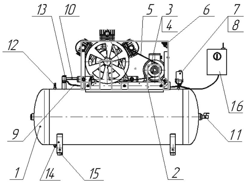 Устройство и принцип работы поршневого насоса, компрессора