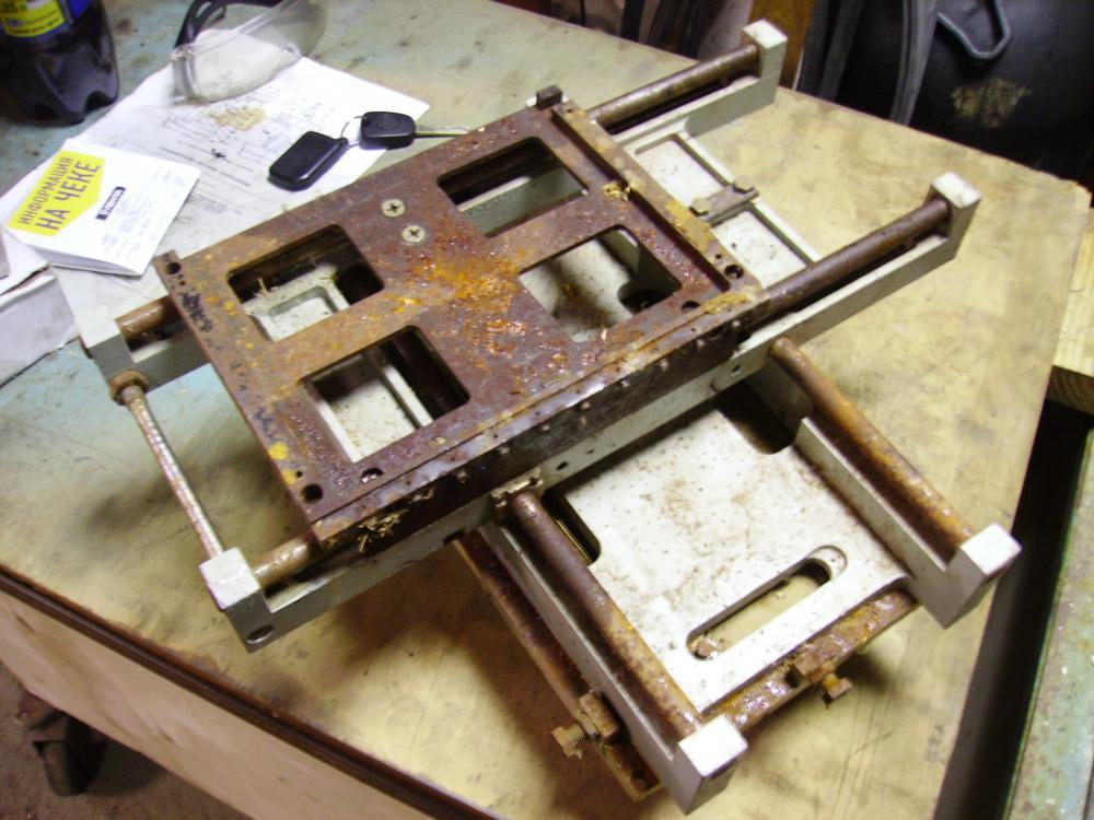 Координатный стол для сверлильного станка своими руками   все про металл