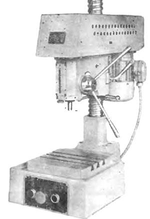 Технические характеристики сверлильного станка 2м112