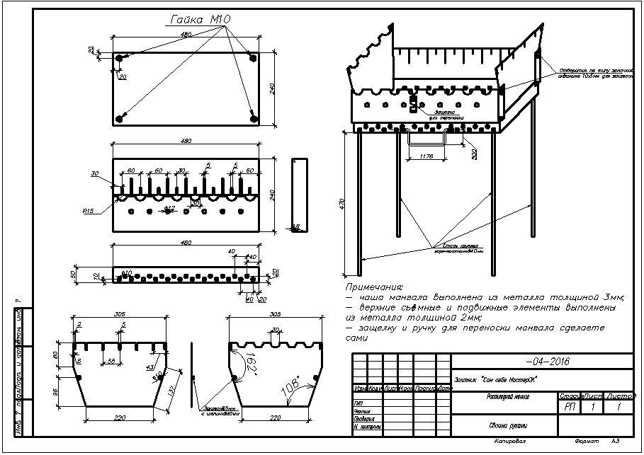 Мангал из кирпича своими руками: 110 фото, чертежи, схемы и советы как построить самые простые проекты