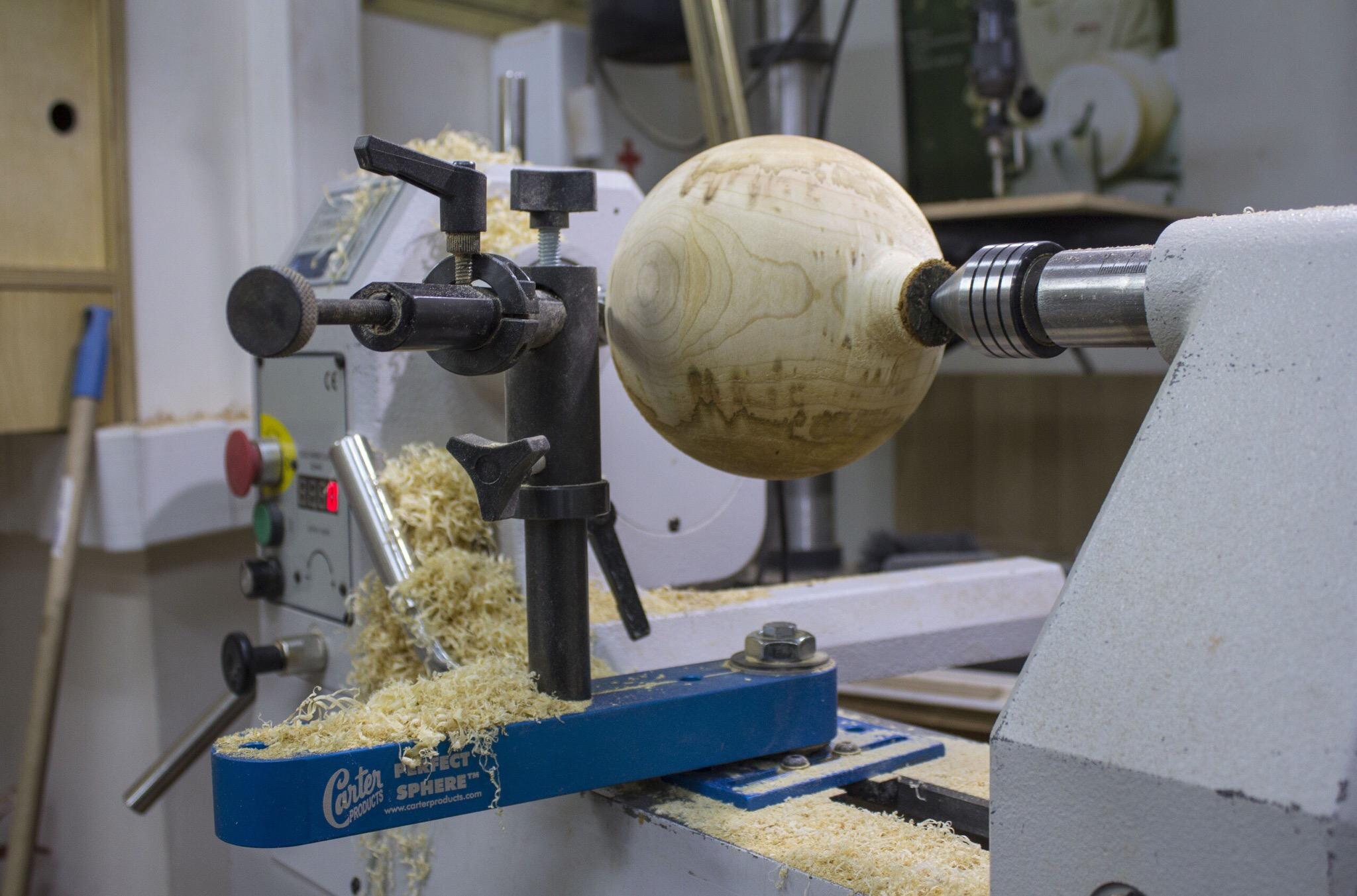 Как выточить шар на токарном станке: видео, фото, инструкция