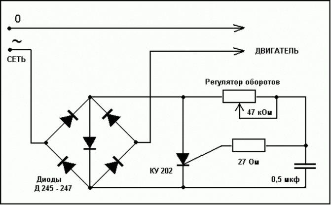 3 способа: как сделать плавный пуск для электроинструмента своими руками