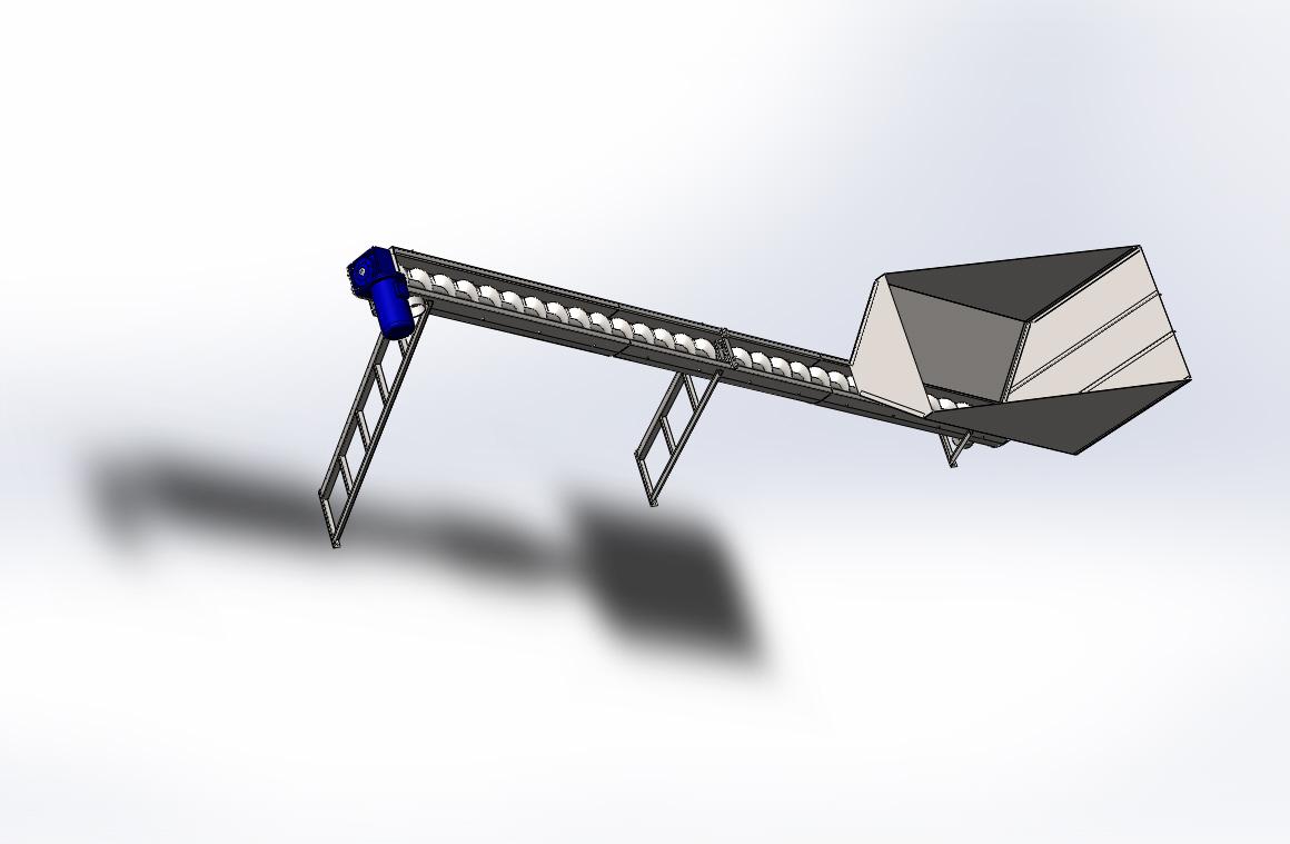 Шнековые транспортеры