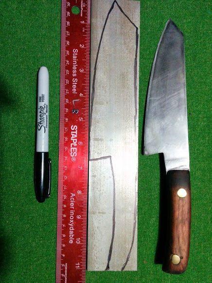 Защита и безопасность— как в домашних условиях сделать нож