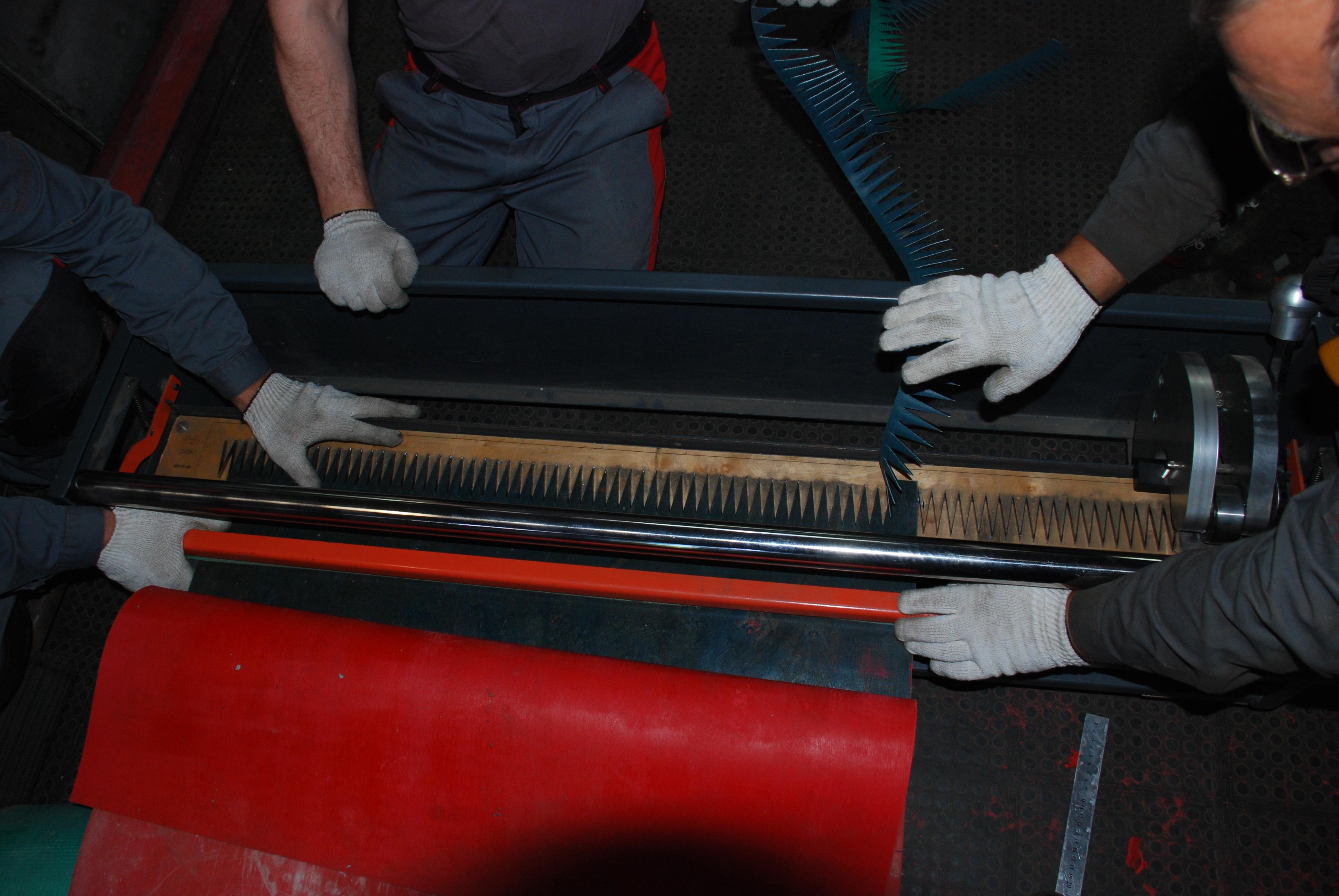 Стыковка конвейерных лент методы, материалы, прессы
