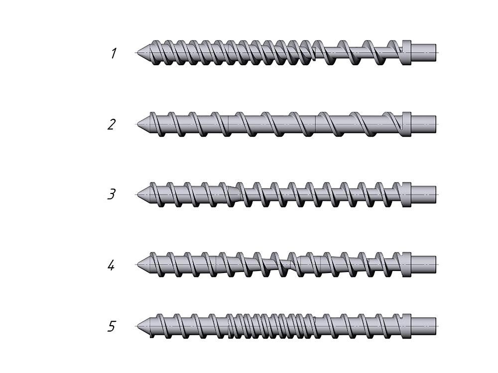 Что такое шнек и где его применяют: разновидности шнековых конвейеров и области применения