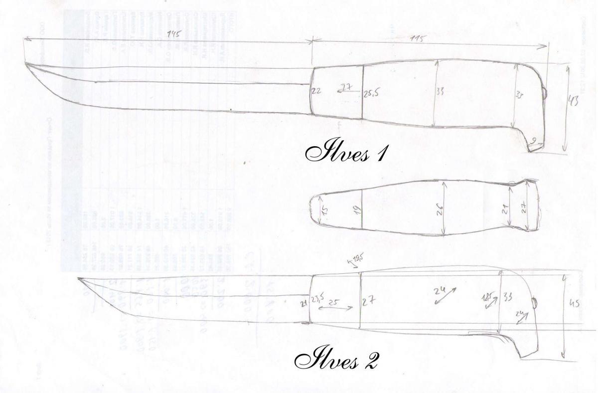 Как сделать ручку для ножа в домашних условиях, монтаж рукояти из дерева