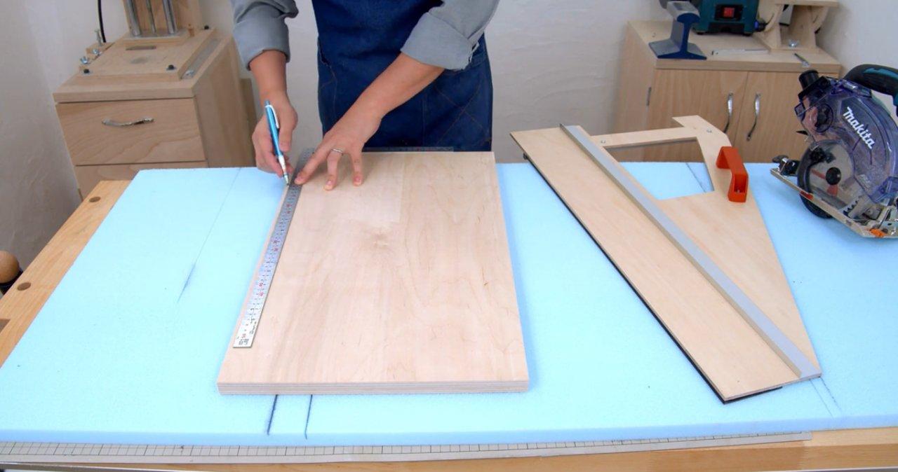 Направляющая для циркулярной пилы: характеристики каретки, линейки и шины для дисковой циркулярки. как сделать ее своими руками по чертежам?