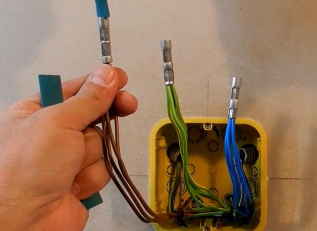 Правильное соединение электрических проводов между собой