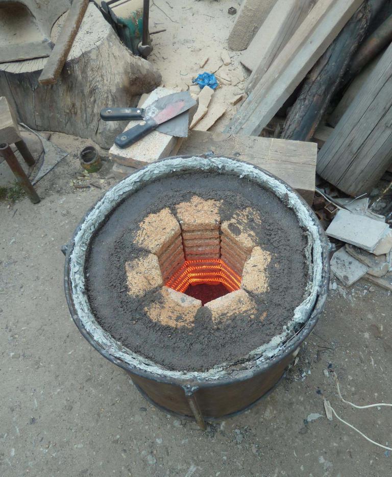 Изготовление газовой муфельной печи своими руками