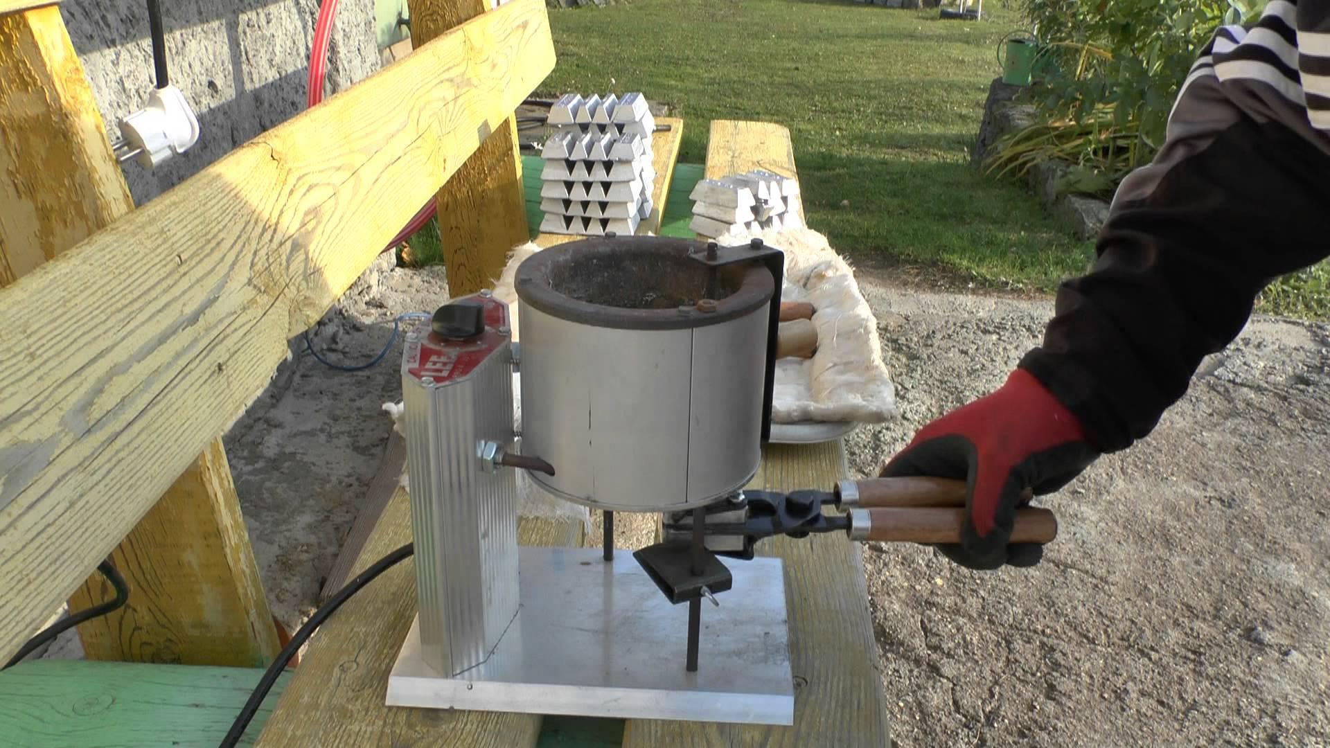 Как изготовить форму для литья свинца - о металле