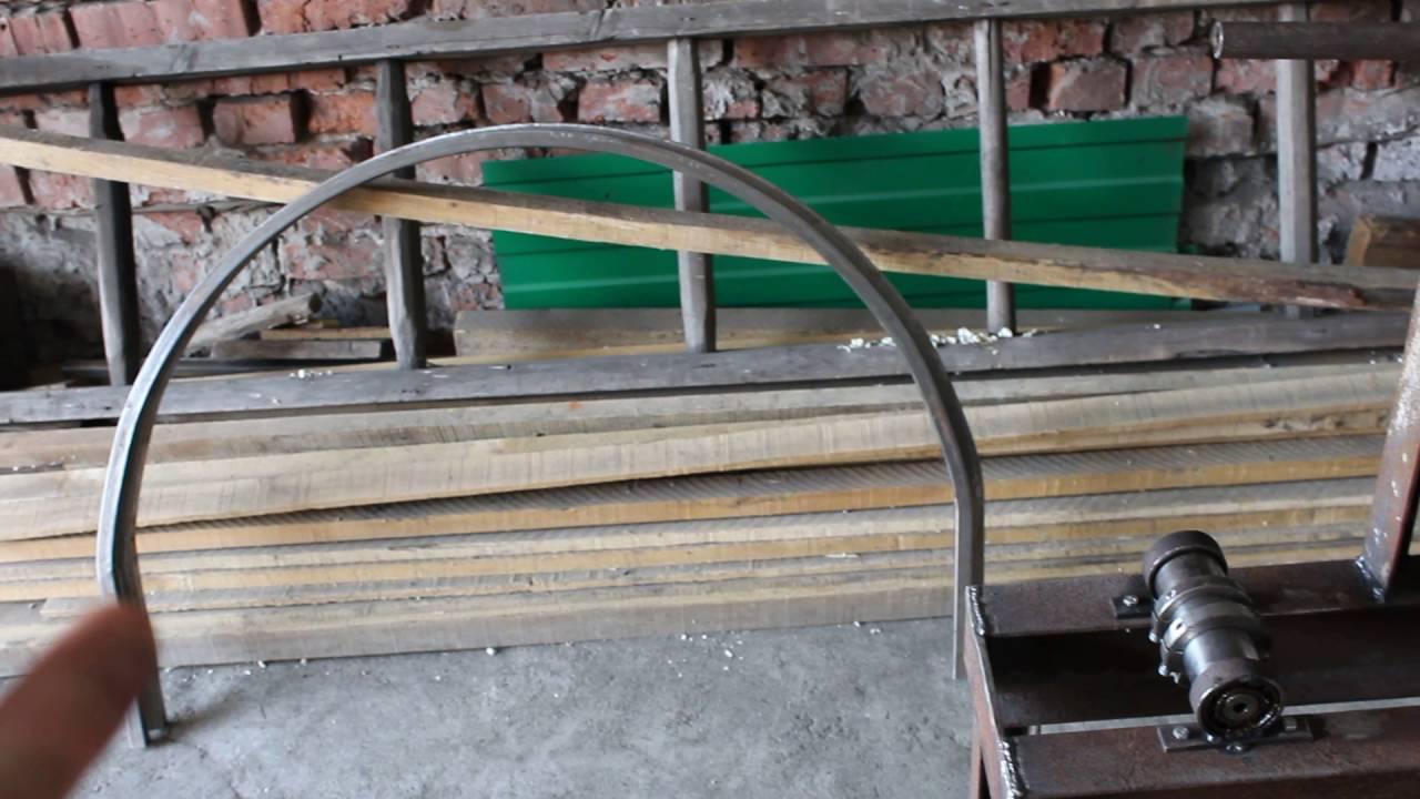 Как согнуть профильную трубу без трубогиба в домашних условиях