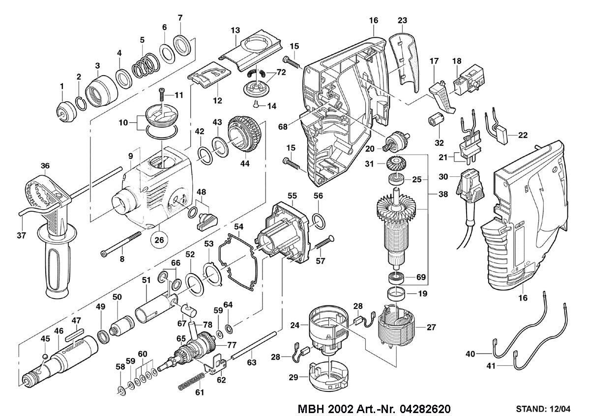 Ремонт перфоратора своими руками: схема, инструкция