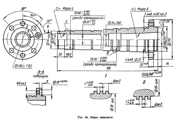 Как сделать переднюю (заднюю) бабку и шпиндель токарного станка своими руками