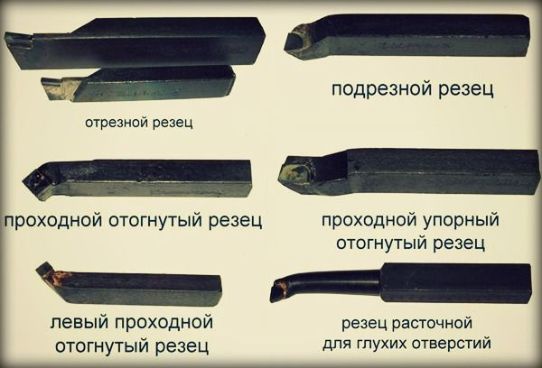 Резцы токарные - виды, типы, классификация, где купить