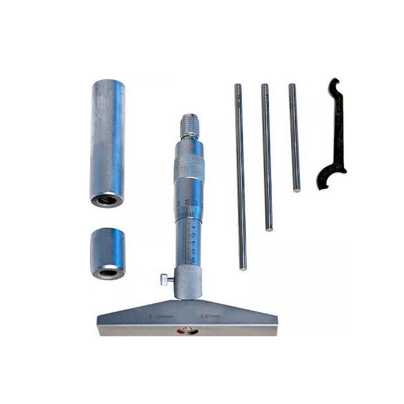 Виды микрометрических инструментов