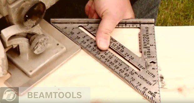Применение метрического угольника свенсона на стройке. | karkasnydom