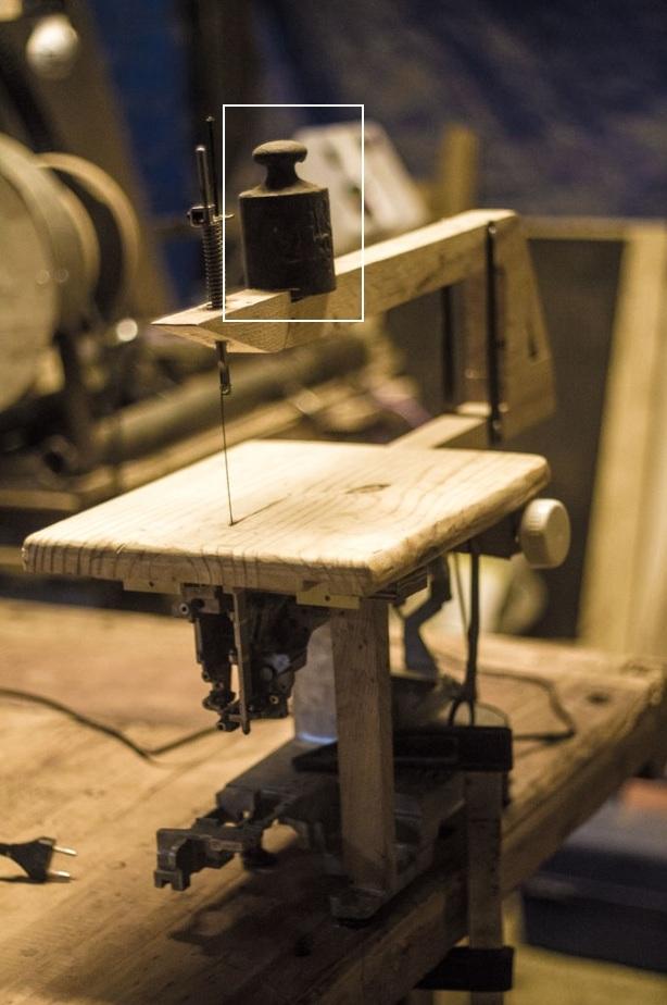 Лобзик для выпиливания из швейной машинки. обсуждение на liveinternet