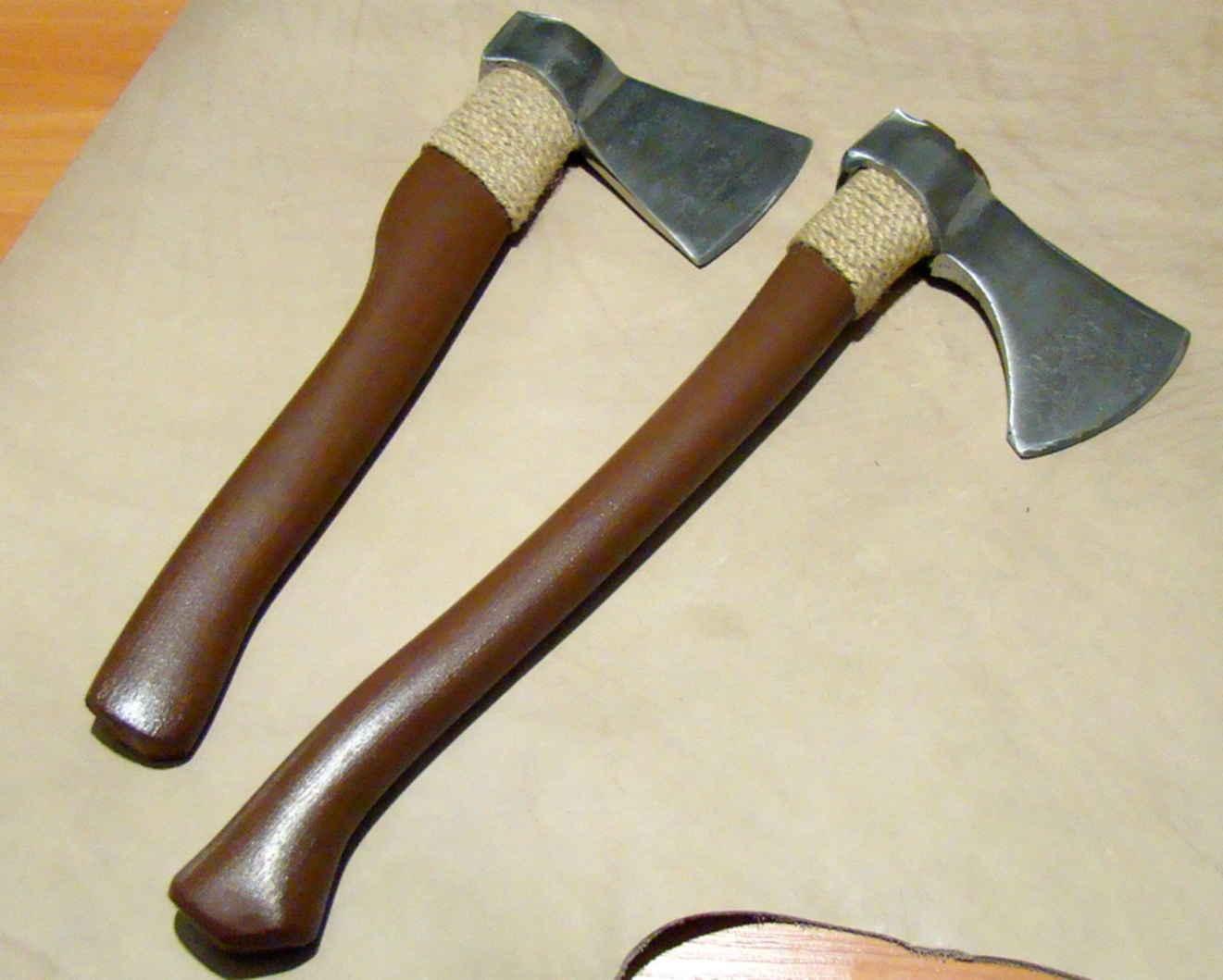Как сделать боевой топор викингов своими руками из старого топора