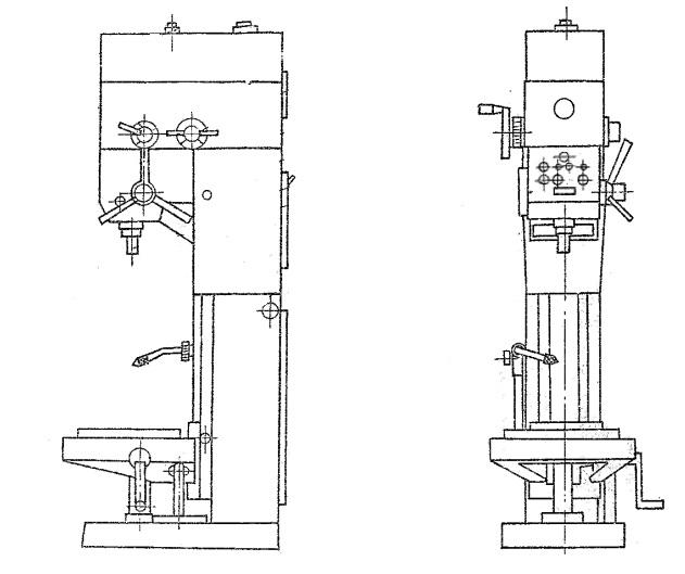 2р135ф2 станок вертикально-сверлильный с чпу описание, характеристики, схемы