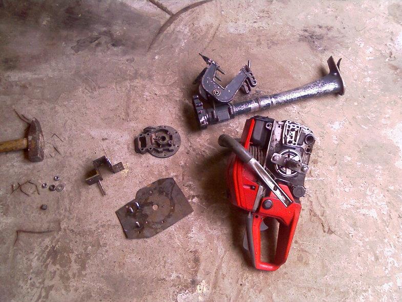 Лодочный мотор из бензопилы своими руками — пошаговая инструкция