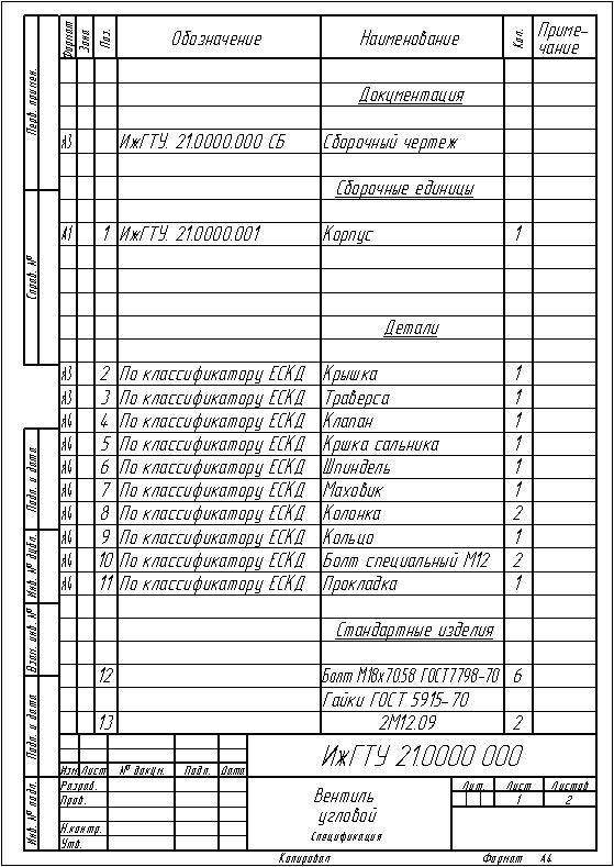 Компьютерная графика | уроки по компас-3d | создание сборочного чертежа и спецификации разъемного соединения. библиотеки и справочники | cadinstructor