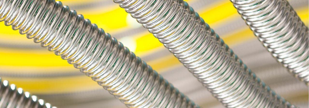 Фитинги для гофрированных труб из нержавеющей стали