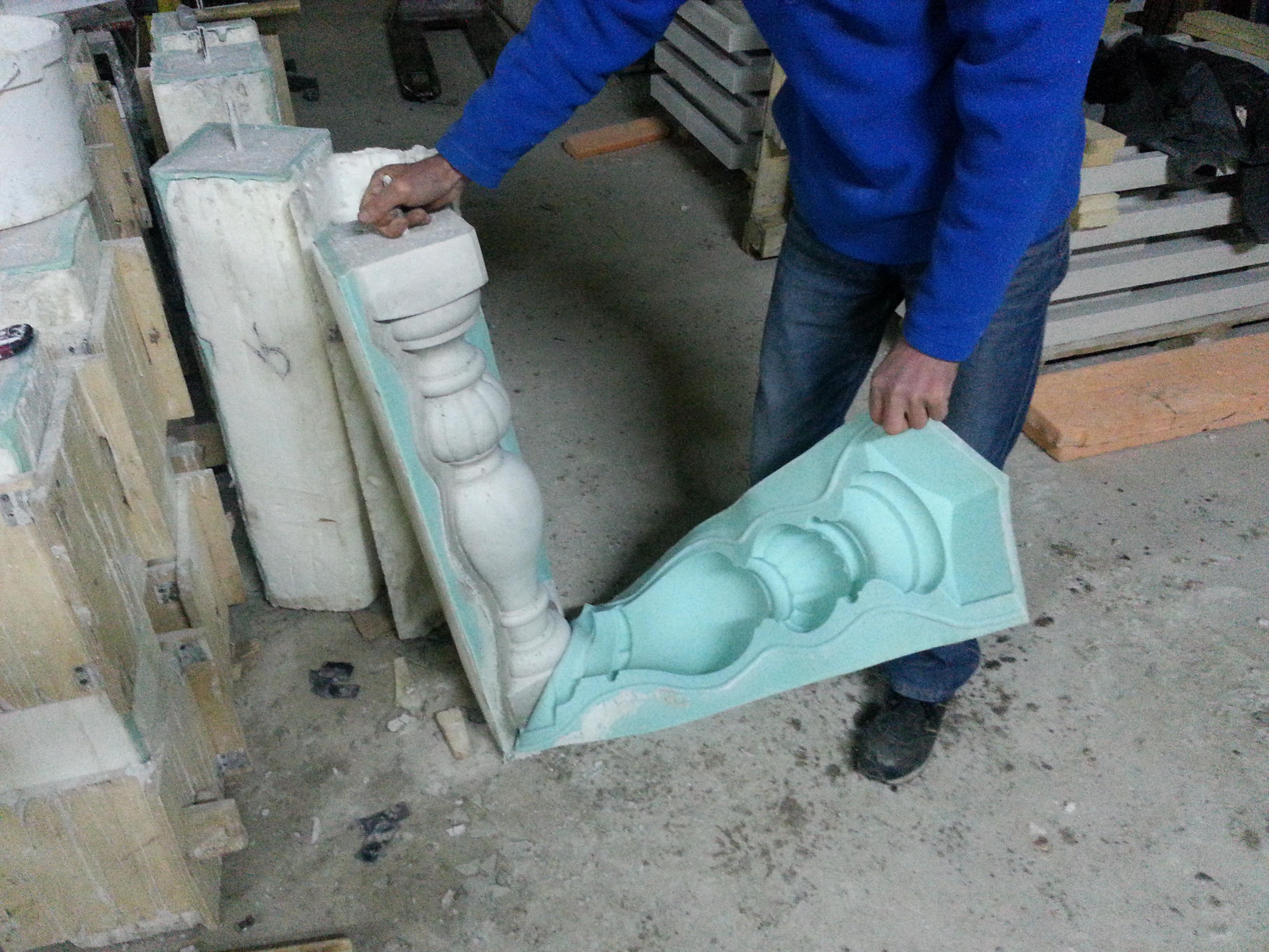 Литой бетон м300: формы для литья (фото)