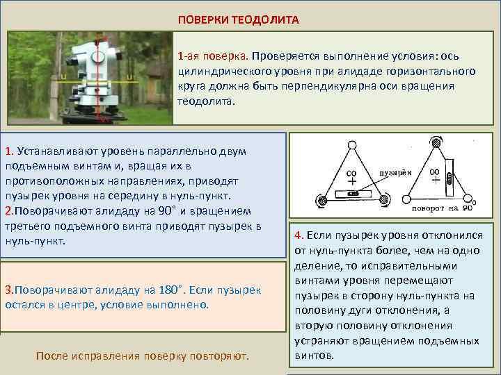 Чем отличается нивелир от теодолита?