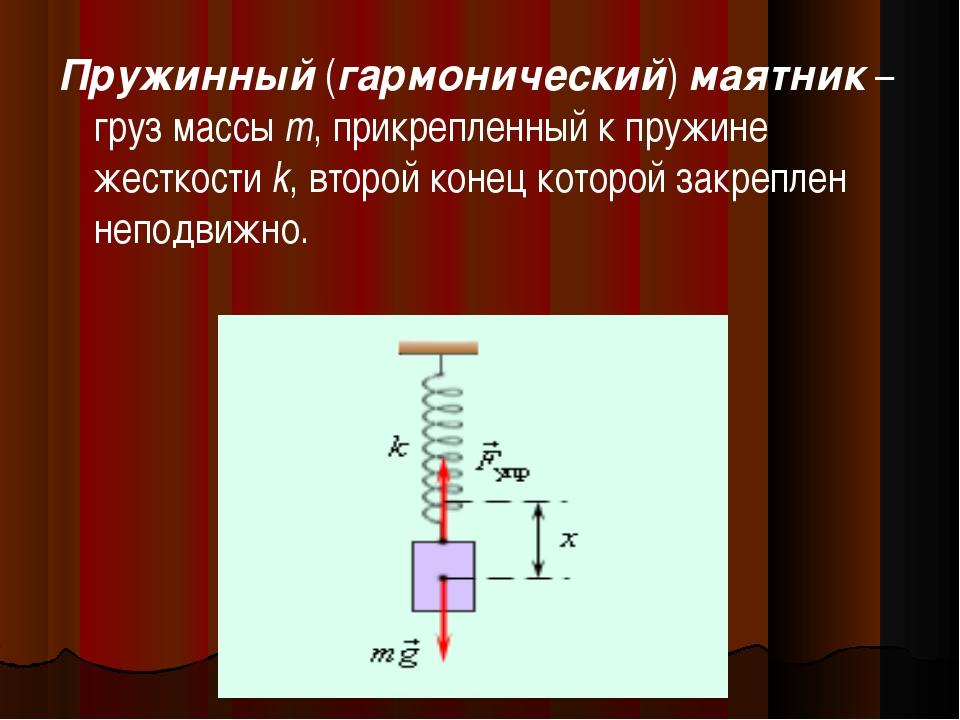 Формула томсона для пружинного маятника - морской флот